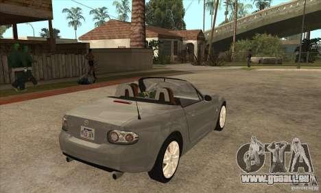 Mazda MX-5 2007 für GTA San Andreas rechten Ansicht