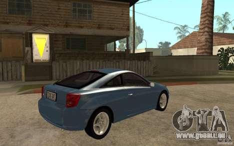Toyota Celica SS2 pour GTA San Andreas vue de droite