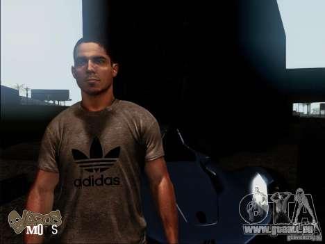 NFS The Run Skins für GTA San Andreas zweiten Screenshot