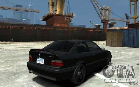 BMW M3 E36 v1.0 für GTA 4 Innenansicht
