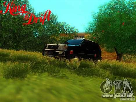 Toyota Land Cruiser v100 für GTA San Andreas Seitenansicht