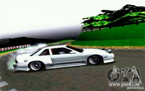 Nissan S13 Onevia pour GTA San Andreas vue intérieure
