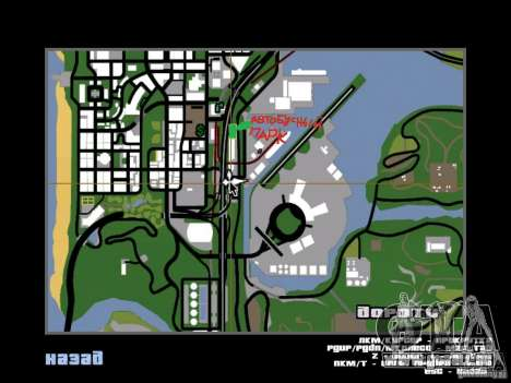 Busparkplatz v1. 1 für GTA San Andreas siebten Screenshot