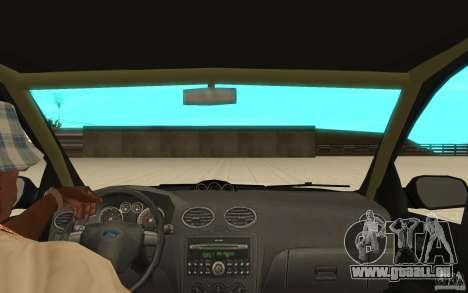 Ford Focus-Grip für GTA San Andreas Rückansicht