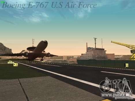 Boeing E-767 U.S Air Force pour GTA San Andreas salon