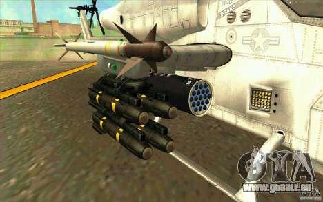 AH-1Z Viper für GTA San Andreas Seitenansicht