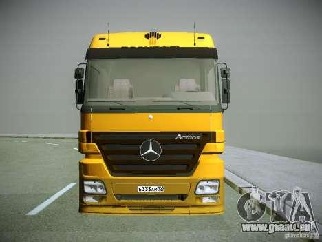 Mercedes-Benz Actros Rosneft für GTA San Andreas linke Ansicht