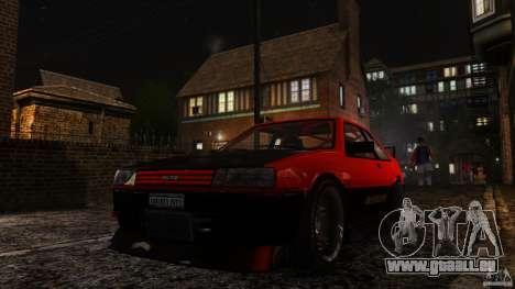 Futo GTRS pour GTA 4 Vue arrière