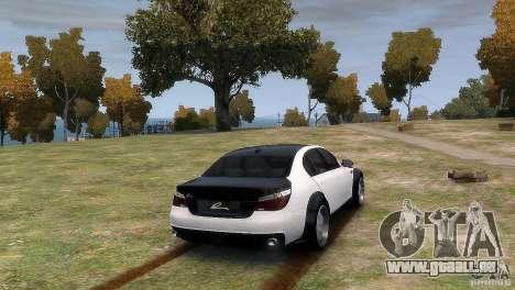 BMW M5 Lumma pour GTA 4 est une gauche