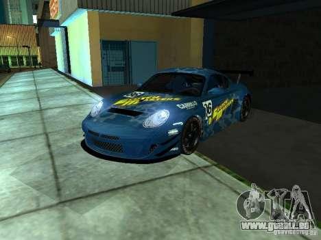 Porsche Cayman S NFS Shift für GTA San Andreas Rückansicht