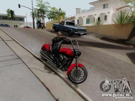 Vice City Freeway für GTA San Andreas rechten Ansicht
