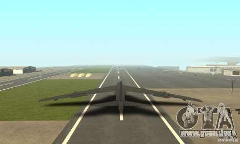 Boeing B-52H Stratofortress für GTA San Andreas linke Ansicht