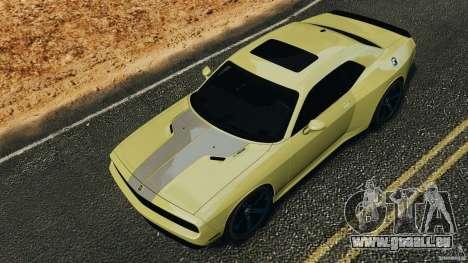 Dodge Rampage Challenger 2011 v1.0 pour GTA 4 est une vue de l'intérieur