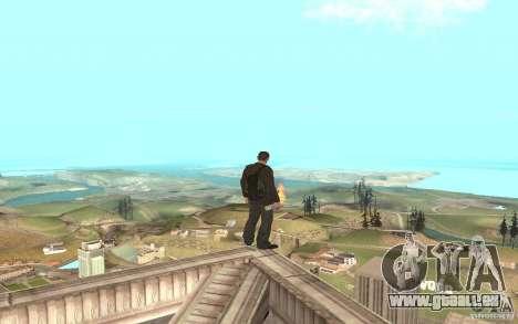 Unique animation of GTA IV V3.0 für GTA San Andreas achten Screenshot