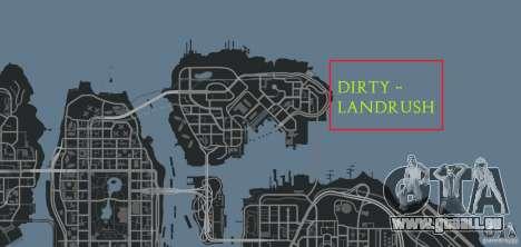 DiRTY - LandRush pour GTA 4 dixièmes d'écran