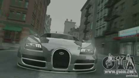 Bugatti Veyron 16.4 Super Sport pour GTA 4 est un côté