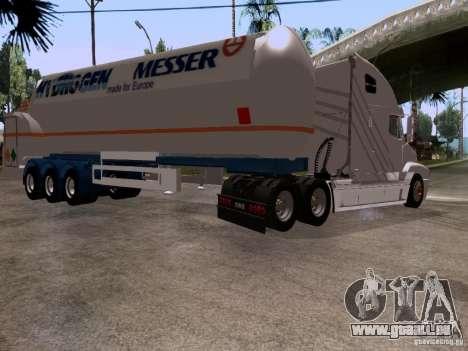 Freightliner Century für GTA San Andreas Rückansicht