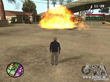 Overdose effects V1.3 pour GTA San Andreas troisième écran