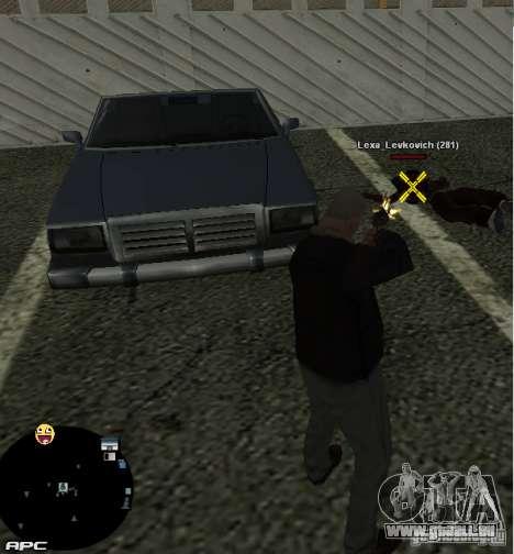 HUD №2 pour GTA San Andreas troisième écran