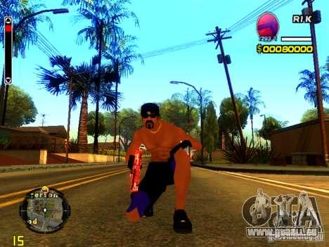 Gens de la plage pour GTA San Andreas