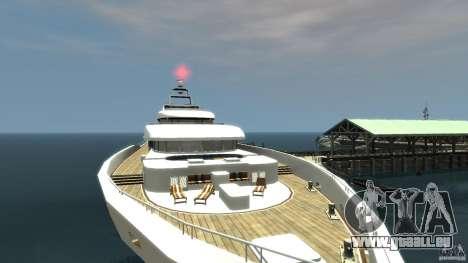 Yacht v1 für GTA 4 hinten links Ansicht