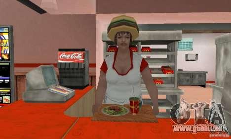 Restaurants McDonals für GTA San Andreas neunten Screenshot