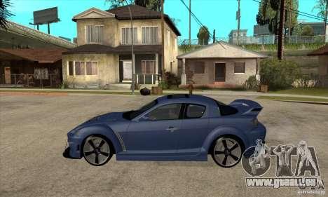 Mazda RX-8 v2 pour GTA San Andreas laissé vue