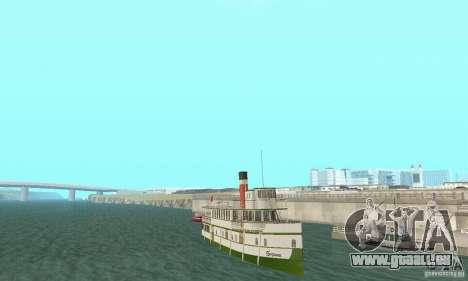 RMS Segwun Ferry für GTA San Andreas