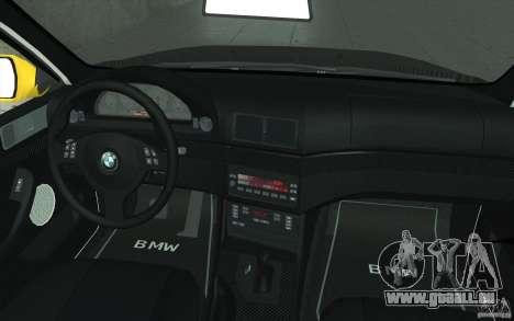 BMW M5 E39 - FnF4 für GTA San Andreas obere Ansicht