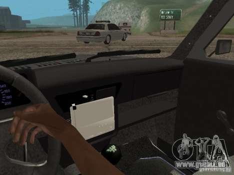 VAZ 21214 Niva für GTA San Andreas Rückansicht