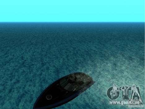 Squalo depuis Grand Theft Auto IV pour GTA San Andreas vue de droite
