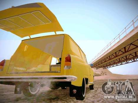 GAS 22 b Van für GTA San Andreas Innenansicht