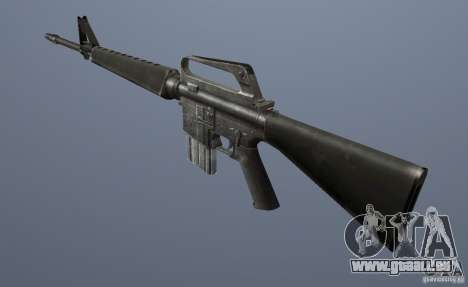 M16A1 GTA Vice City pour la deuxième capture d'écran