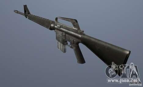 M16A1 für GTA Vice City zweiten Screenshot