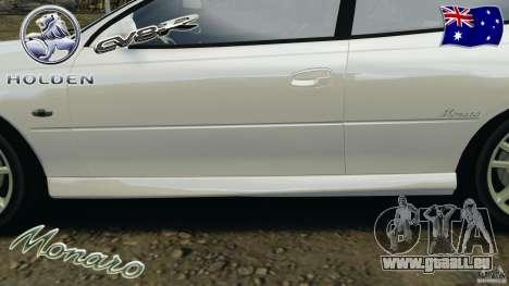 Holden Monaro CV8-R für GTA 4-Motor