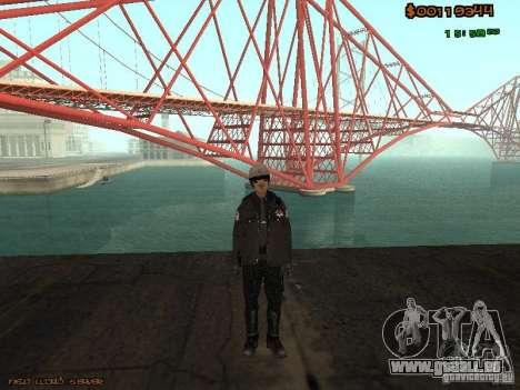 Sheriff Departament Skins Pack für GTA San Andreas fünften Screenshot