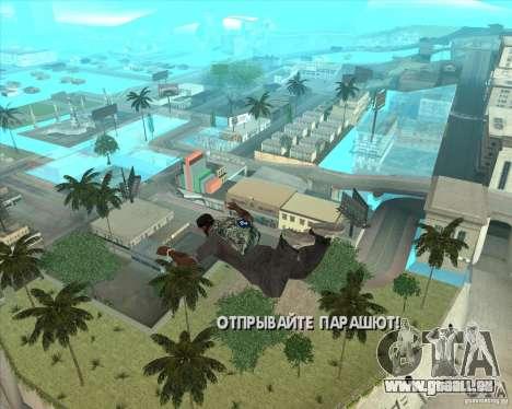 Fallschirm-Rockstar (Tarnung) für GTA San Andreas zweiten Screenshot