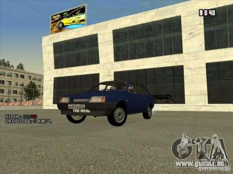 VAZ 2109 Drain V2 für GTA San Andreas linke Ansicht