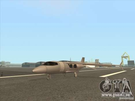 Cargo Shamal pour GTA San Andreas