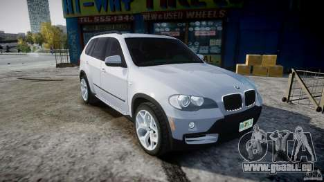 BMW X5 Experience Version 2009 Wheels 214 für GTA 4 Innenansicht