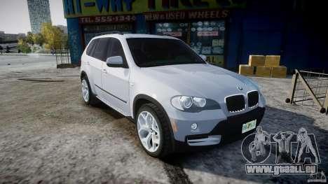 BMW X5 Experience Version 2009 Wheels 214 für GTA 4 Innenansicht