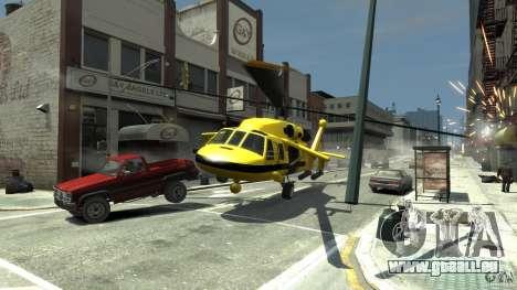 Yellow Annihilator pour GTA 4 est un côté
