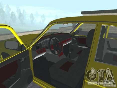 GAZ 31105 pour GTA San Andreas vue arrière