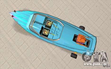 Hot-Boat-Rot für GTA San Andreas rechten Ansicht