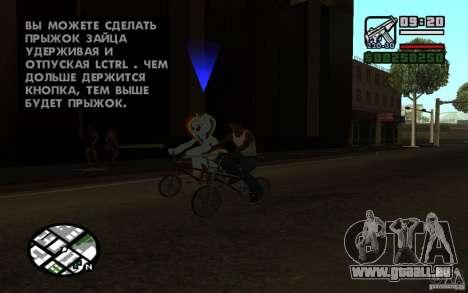 Rainbow Dash Skin für GTA San Andreas zweiten Screenshot