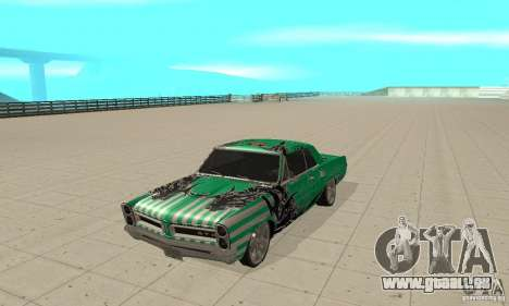 Pontiac GTO 1965 Speed King-NFS Pro Street für GTA San Andreas linke Ansicht