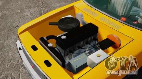 Taxi gaz-3102 pour GTA 4 Vue arrière