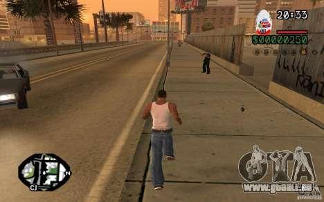Kinder Surprise pour GTA San Andreas deuxième écran