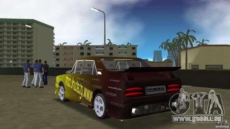 Anadol GtaTurk Drift Car pour GTA Vice City sur la vue arrière gauche