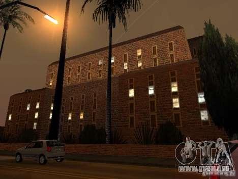 Neue Texturen-Krankenhaus in Los Santos für GTA San Andreas her Screenshot